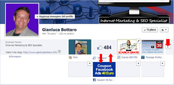 Coupon pro blog facebook