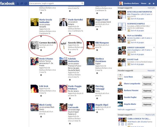 furbetti Gruppo Facebook
